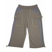 Удлиненные шорты для  мальчиков Сафари