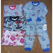 Пижама теплая детская  329-312 (байка)  Фламинго-текстиль