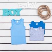 Майка для мальчика мод.301 Фламинго-текстиль