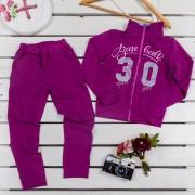Костюм для девочки модель 741 Фламинго-текстиль