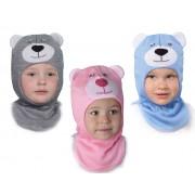 Зимняя шапка-шлем детская Михасик ТМ Бабасик