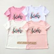 Футболка для девочки ФБ192 LOVE Robinzone