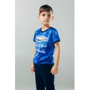 Футболка для мальчика синяя ТМ Смил Мечтатели