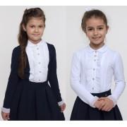 Блуза обманка длинный рукав  Смил-2017