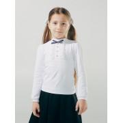 Блуза с декоративной планкой  Смил 2018