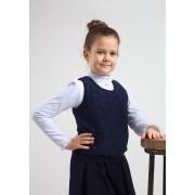 Жилет школьный с гипюром для девочки  Смил 2017