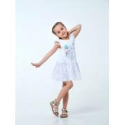 Сарафан для девочки Летний цветок белый ТМ Смил