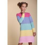 Платье вязаное Радуга тм Tophat