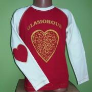 Джемпер для девочки  Фламинго текстиль