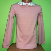 Блуза для девочки  с воротником  ТМ Зиронька