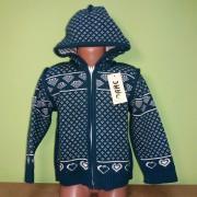Куртка вязаная двусторонняя  Дайс