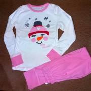 Пижама для девочки мод262 Фламинго-текстиль