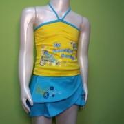 Комплект для девочки 755  Фламинго-текстиль