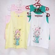Майка для девочки мод.812 Фламинго-текстиль
