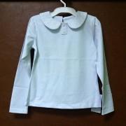 Блуза для девочки  с воротничком кф225 Робинзон