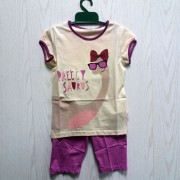 Пижама для девочки летняя ПЖ45 (супрем) Бемби