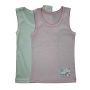 Майка для девочки мод.211 Фламинго-текстиль
