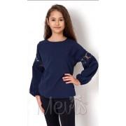 Блуза для девочки 2754 т.синяя Mevis