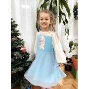 Платье  Эльза  бирюзовое 19841  ТМ Vidoli