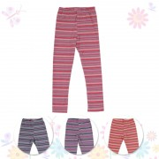 Лосины для девочки Полоска Фламинго-текстиль
