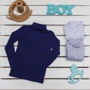 Гольф для мальчика 879 (стрейчкулир) Фламинго-текстиль