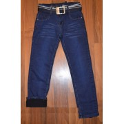 Утепленные джинсы для мальчика (на флисе)  Taurus