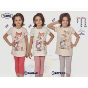 Пижама  для девочки летняя  мод.9308 Baykar