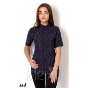 Блуза для девочки 2660 т.синий  Mevis