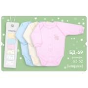 Боди для новорожденного БД69 (интерлок) Бемби