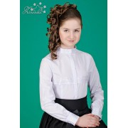 Блуза белая для школьницы 3537 ТМ Зиронька