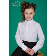 Блуза белая для школьницы 3539 ТМ Зиронька