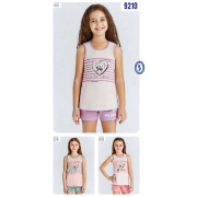 Пижама  для девочки летняя  мод.9210 Baykar