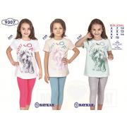 Пижама для девочки летняя  мод.9307 Baykar
