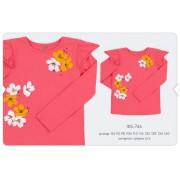 Джемпер для девочки фб746 (супрем)  Бемби весна