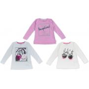 Джемпер для девочки мод 767 Фламинго текстиль