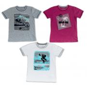 Футболка для мальчика мод.775 Фламинго-текстиль