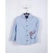 Рубашка-оксфорд для мальчика голубая  Bogi