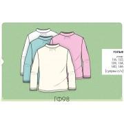 Блуза гольф школьный для девочки (супрем) Гф98 Бемби