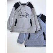 Джемпер для мальчика Велосипед (двунитка)  кф619  Робинзон
