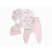 Комплект для новорожденного КП209 беж (байка)  Бемби