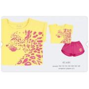 Летний комплект для девочки КС630 желтый Бемби