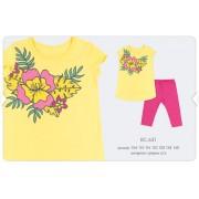 Летний комплект для девочки КС631 желтый Бемби