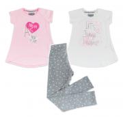 Костюм для девочки модель 771  Фламинго-текстиль