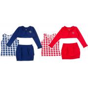 Костюм для девочки модель 899 Фламинго-текстиль