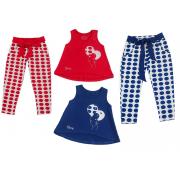 Костюм для девочки модель 936 Фламинго-текстиль
