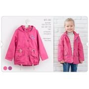 Куртка-ветровка для девочки КТ151