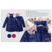 Куртка зимняя  для девочки  КТ157 Бемби