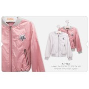 Куртка-ветровка для девочки КТ182 тм Бемби