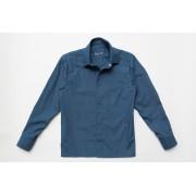 Рубашка джинс для мальчика с длинным рукавом на кнопках SmileTime