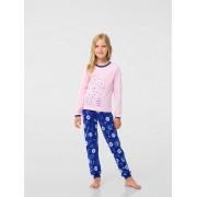Пижама для девочки розовая (интерлок) ТМ Смил